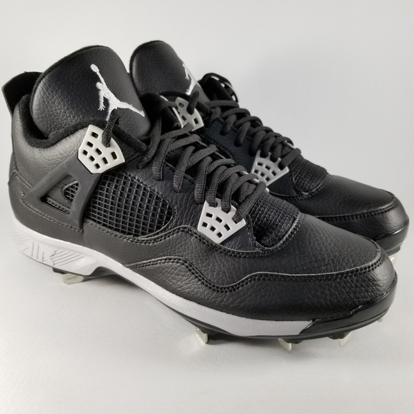 04370974b90be2 Nike Air Jordan Retro IV Metal Baseball Cleats